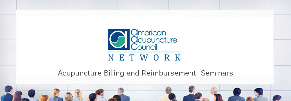 Acupuncture Insurance Billing Seminar