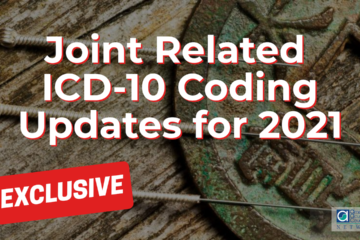 Joint Related ICD-10 Coding Updates for 2021