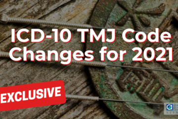 TMJ Code Changes for 2021