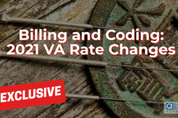 Billing and Coding: 2021 VA Rate Changes