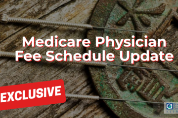 Medicare Physician Fee Schedule Update