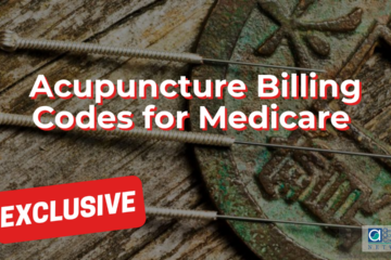 Acupuncture Billing Codes for Medicare