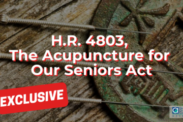 H.R. 4803, The Acupuncture for Our Seniors Act