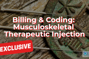 Musculoskeletal Therapeutic Injection